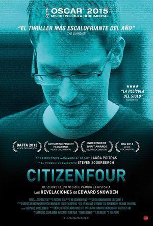 Poster Citizenfour 2014