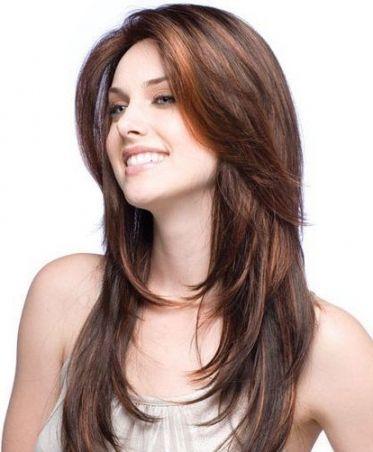 Schnitt lange dunne haare