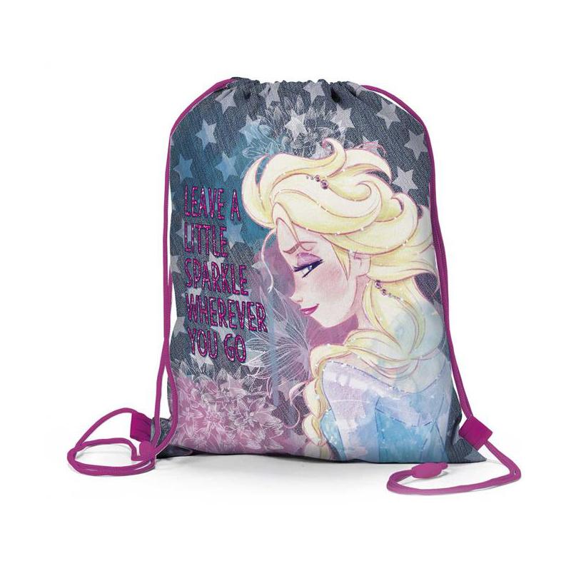 Frozen Worek Na Buty Bags Drawstring Backpack Backpacks