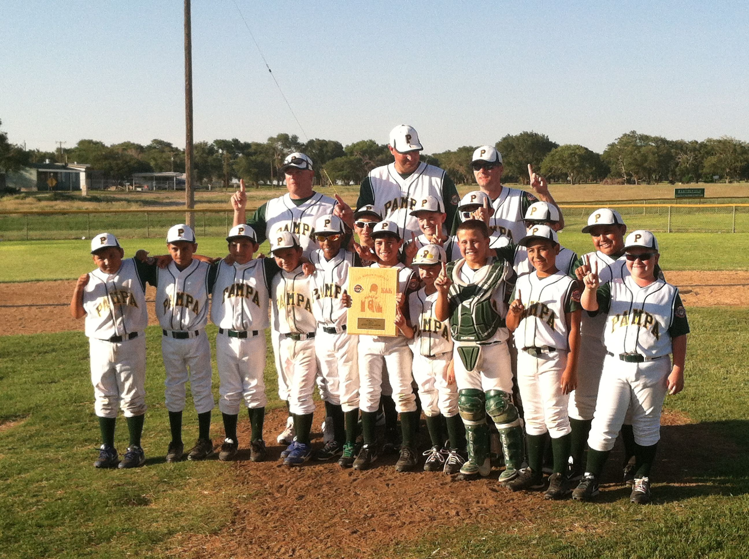 Cal Ripken Little League 9 And 10 Year Olds Baseball Pampa Team State Champions Won State At Muleshoe Tx Little League League Teams