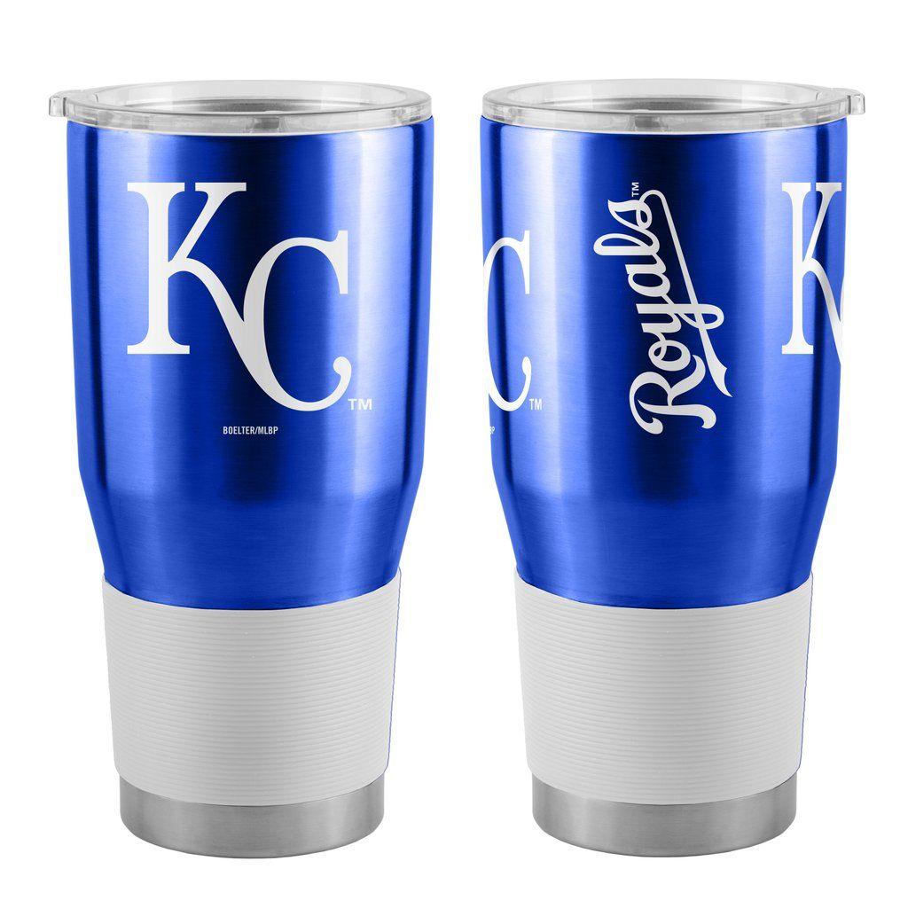 Kansas City Royals Travel Tumbler 30oz Ultra Blue