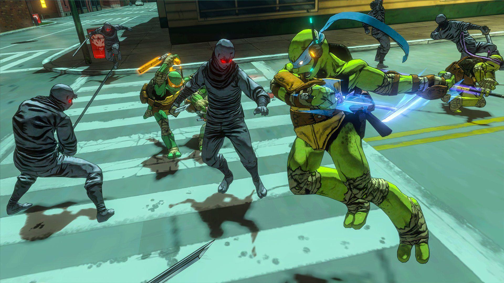 Teenage Mutant Ninja Turtles Mutants In Manhattan Playstation 4 Ninja Mutant Teenage T Ninja Turtle Videos Teenage Mutant Ninja Turtles Ninja Turtles