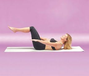 stabilityball workout for a sexier stomach  pilates abs