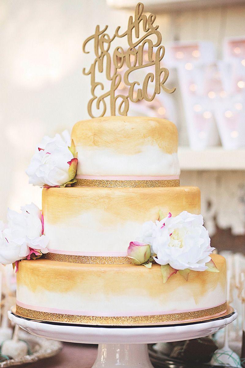 Wedding Cakes That Match Your Invites | Wedding cake, Gold weddings ...