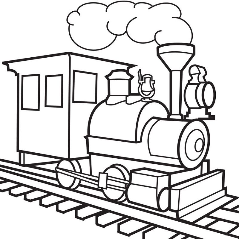 Drawing pages train k5 worksheets train coloring pages