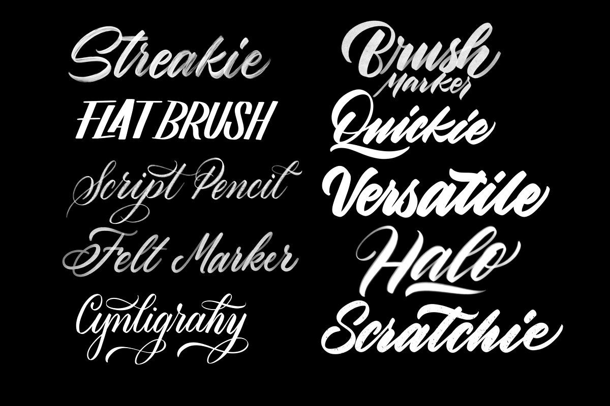 Download Procreate Lettering Brush Pack 1