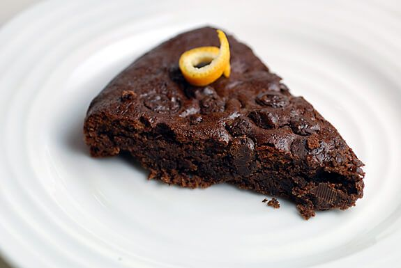 This gluten-free and grain-free decadent Double Chocolate Orange Torte recipe will make a nice healthy dessert for Passover.