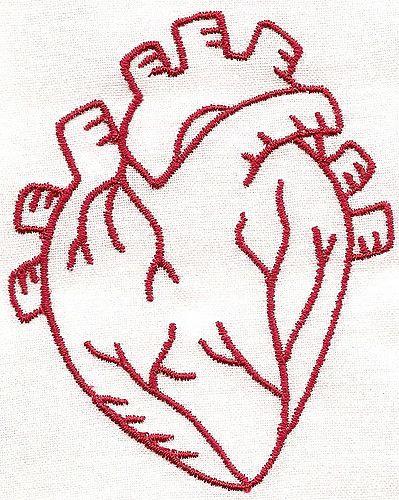 organes vitaux coeur   – Tattoo