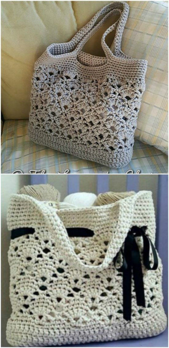 d98c39ba9 You Will Adore These Crochet Tote Bag Best Free Patterns