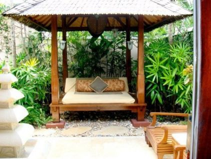 Love It But Not Too Practical In The Nw Asian Patio Bychristina