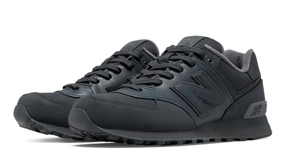 new balance 574 mens all black