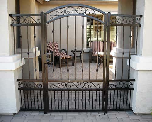 ornate wrought iron gate cast iron decorative wrought iron gates phoenix sun king fencing weld