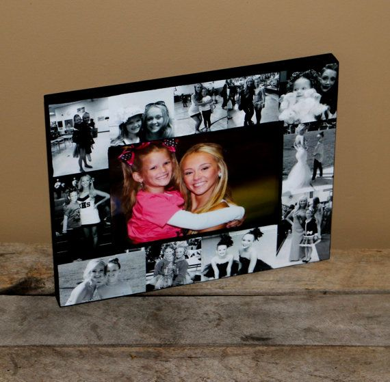 Photo Frame Collage, Picture Frame Personalized Sister Gift, Maid of ...