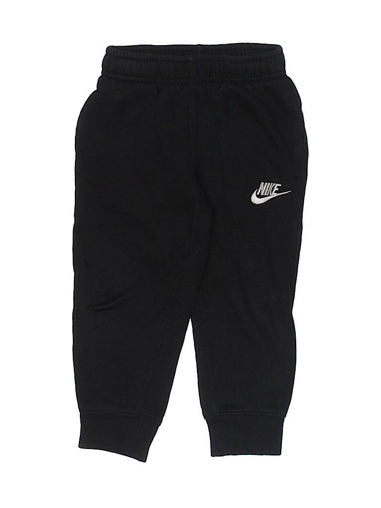 Nike Sweatpants - Elastic: Black Sporting & Active