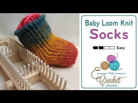 Learn How To Knit Socks On A Sock Loom With Mikey Please Note That