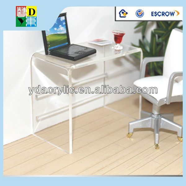 Acrylic Computer Table Clear Furniture Modern Desk 1 70