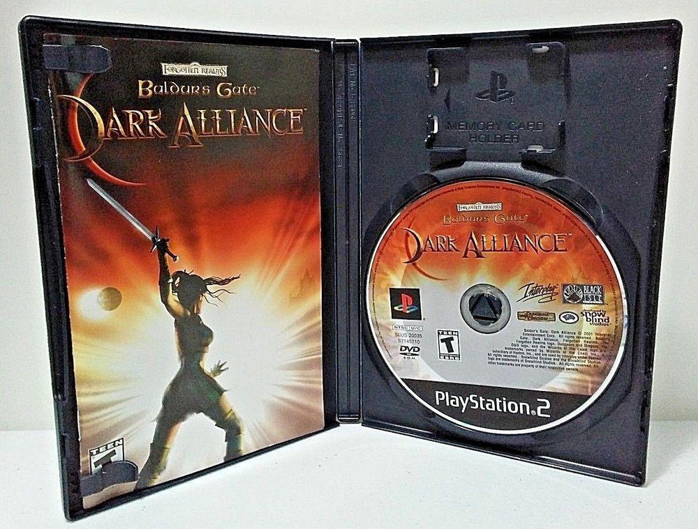 Baldur S Gate Dark Alliance Ps2 Playstation 2 2001 Complete Cib