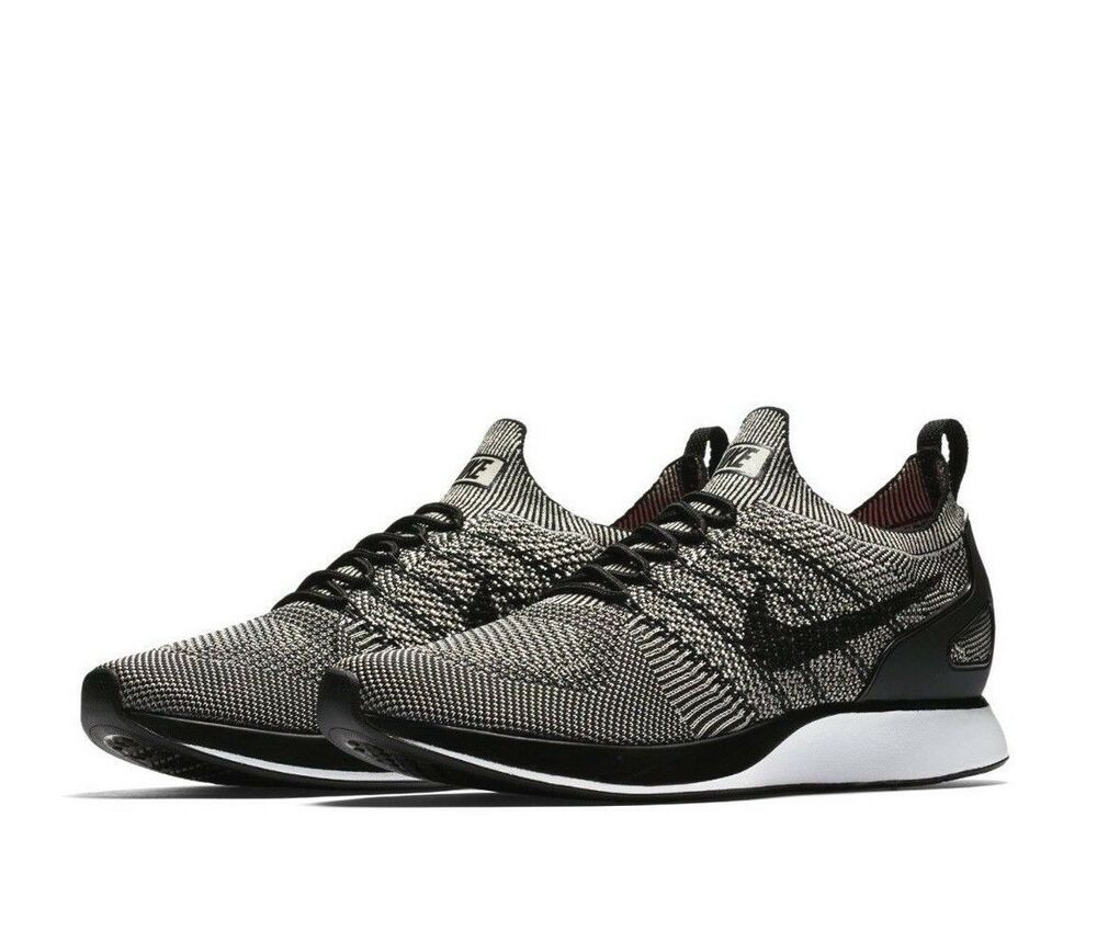 Nike Air Zoom Mariah Flyknit Racer Mens Running Shoes 10 Pale Grey Black Nike Runningshoes Running Shoes For Men Saucony Running Shoes Black Running Shoes