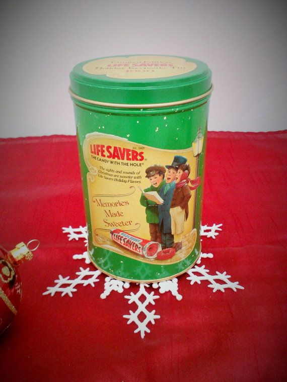 Vintage 1990 Life Savers Limited Edition Collectible Holiday ... on