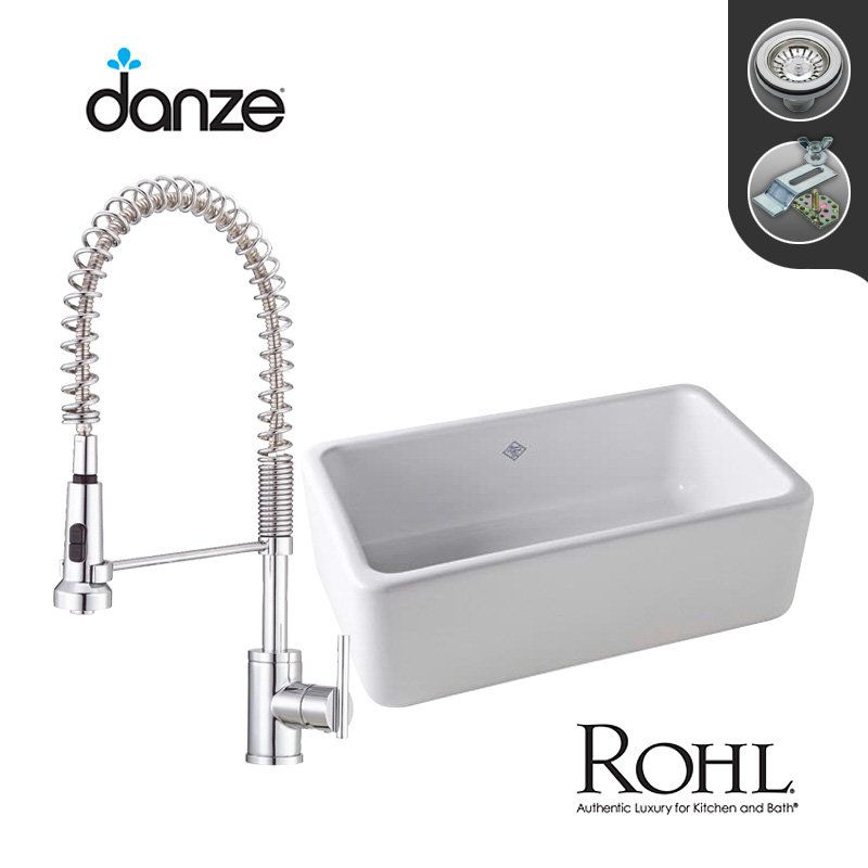 View The Build Smart Kits Rc3018 D455158 Combo Rohl Single Bowl