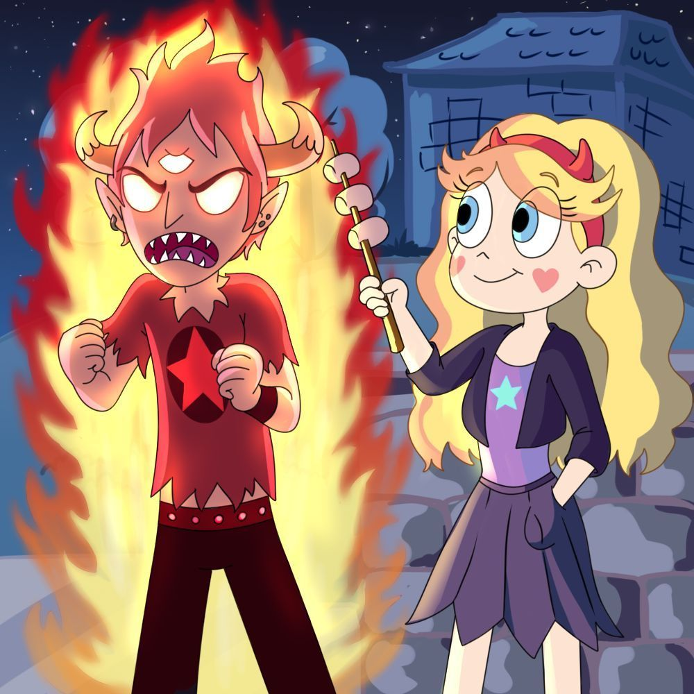 Star Vs The Forces Of Evil Burning Series