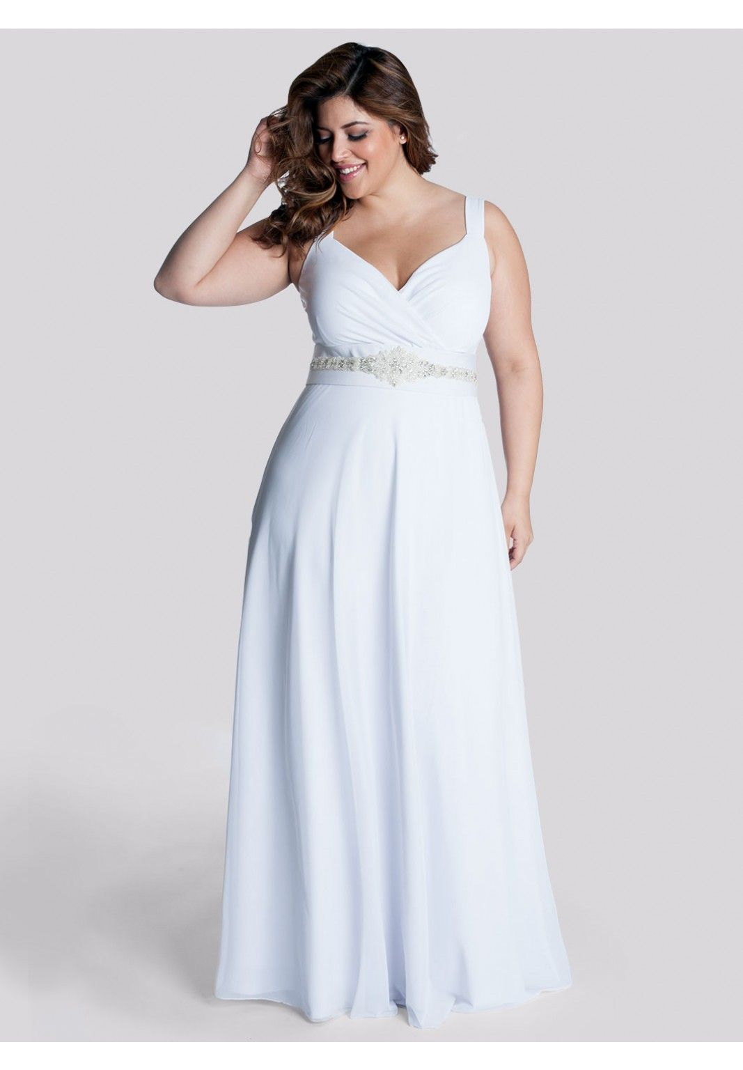 """Say """"I do"""" to the dress of your dreams. Shop for """"the one"""" today! We have beautiful plus-size wedding dresses to make your big day even more special."""