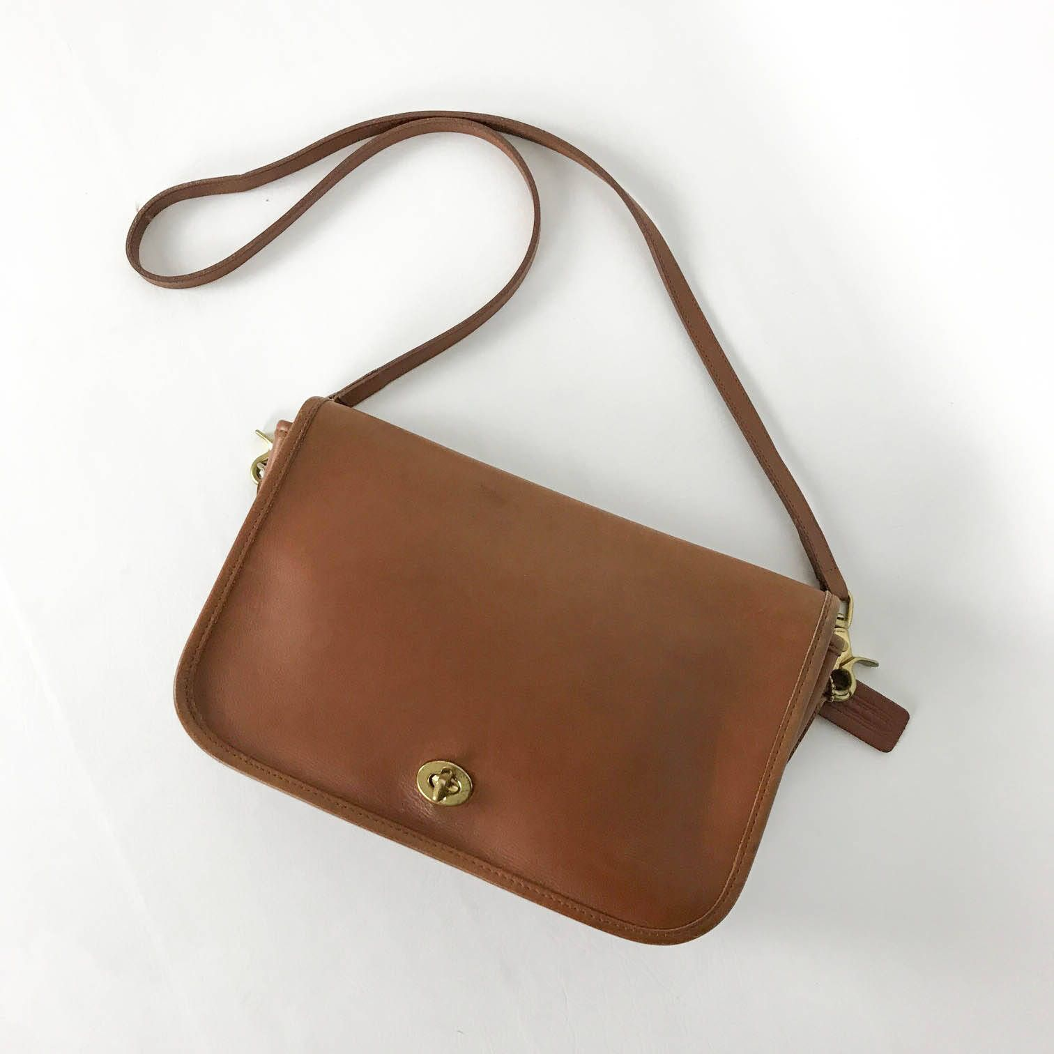 Leather Fashion · Vintage Coach Bag a3edcc38e8c4f
