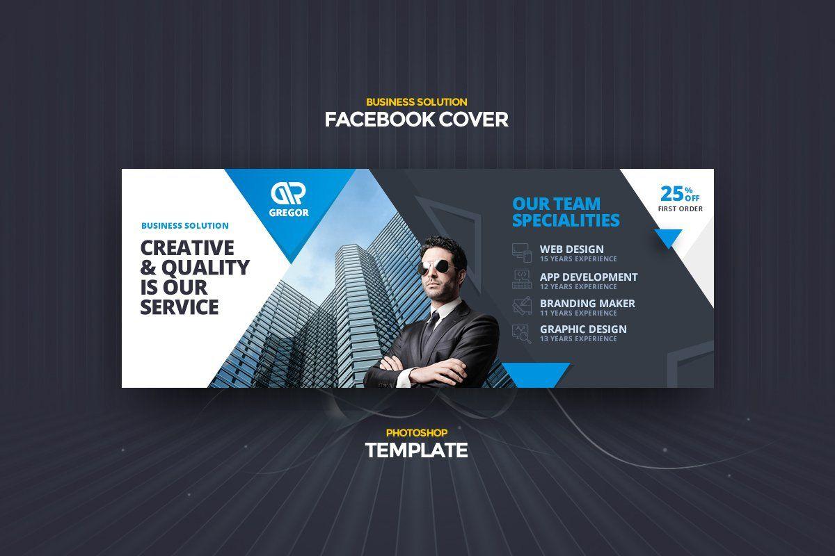Udemi Business Fb Cover Template In 2020 Facebook Cover Template Cover Template Facebook Cover