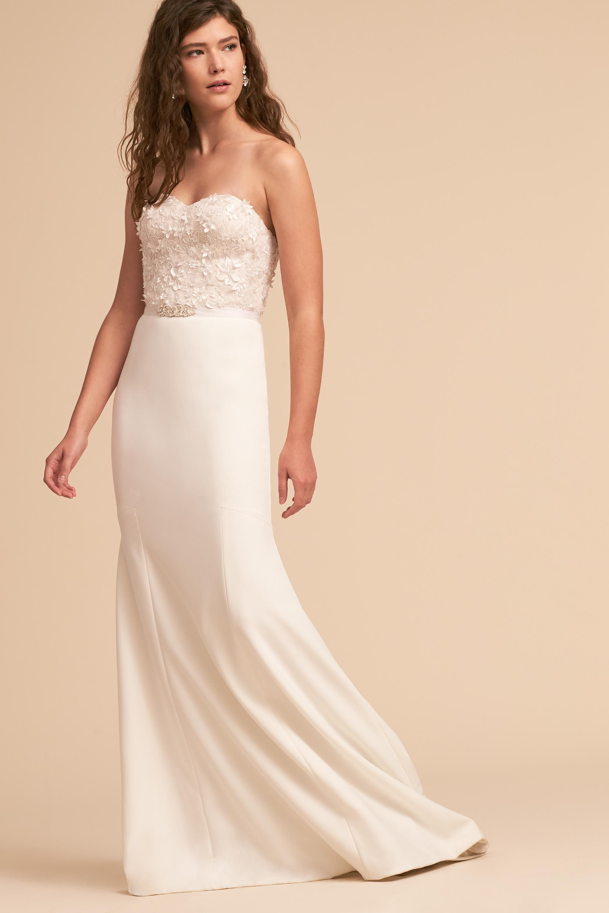 Chicago wedding dress shops  Amanda Gown from BHLDN  I do in   Pinterest  Wedding