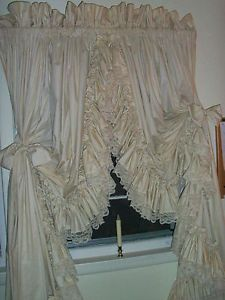 Dorothy S Original Ruffled Curtains Pr Country Style Lt