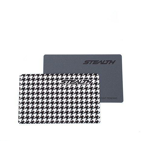 NANETTE LEPORE Charging Wallet w//RFID Protection Black White ZebraYellow Tassel