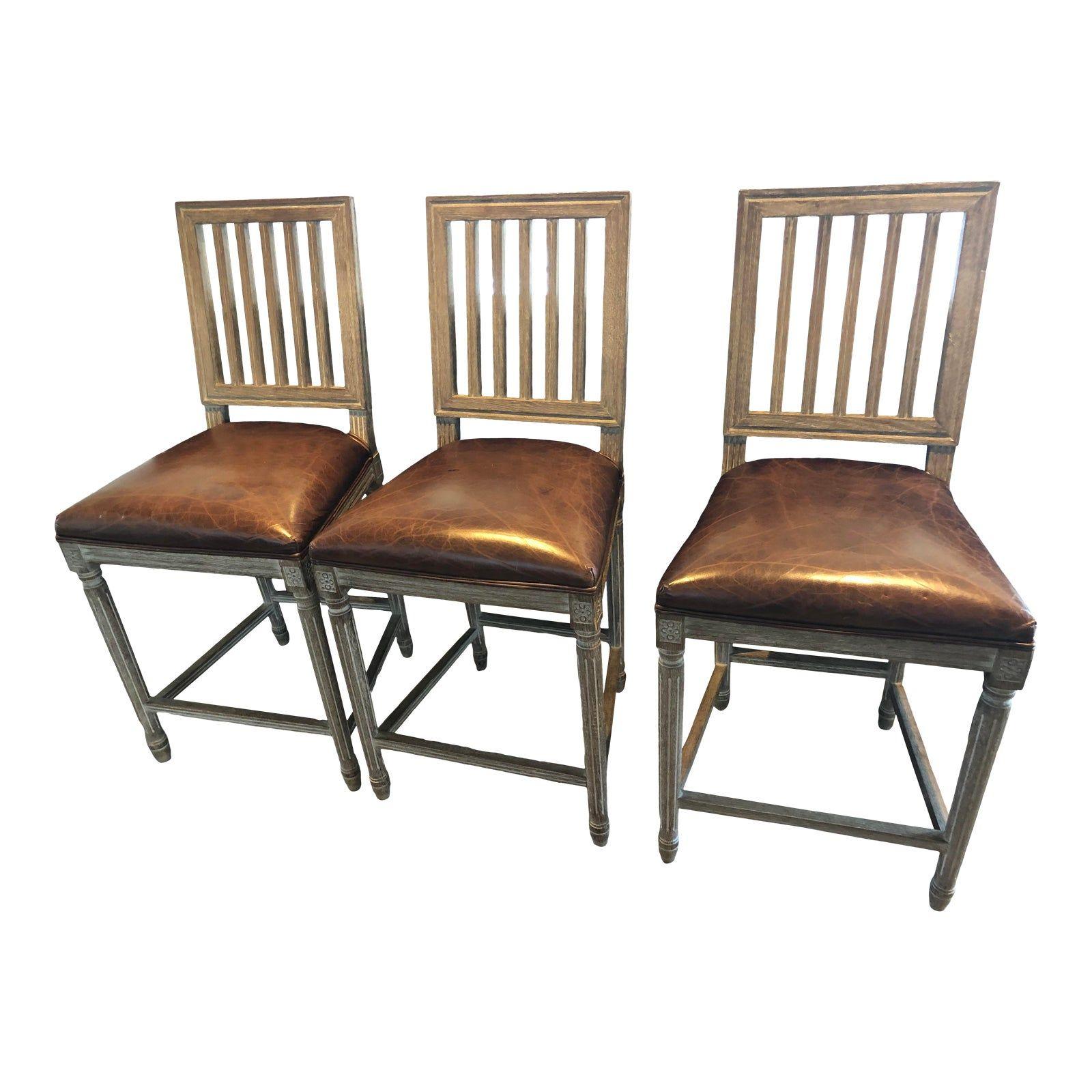 modern restoration hardware kitchen bar stools  set of 4