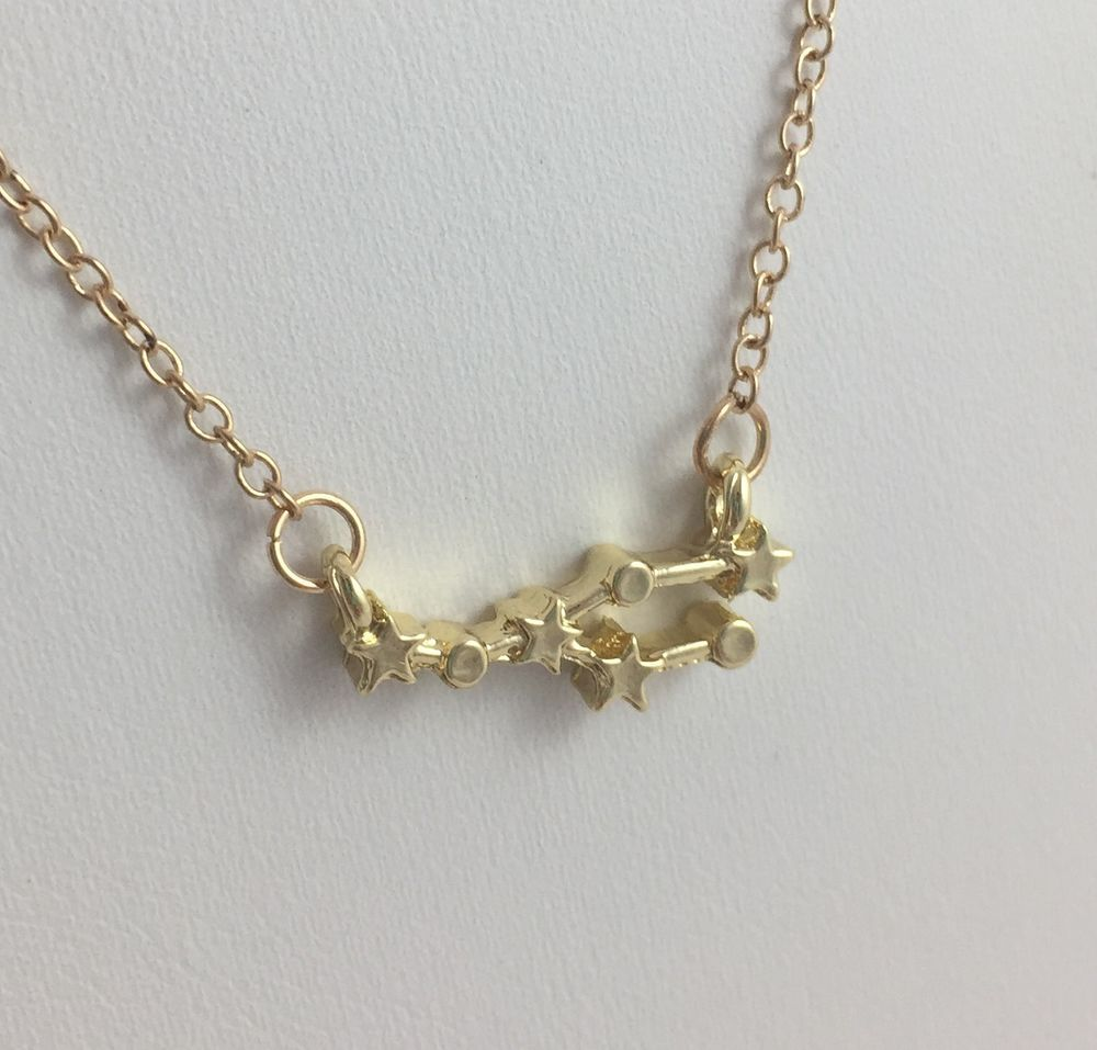 Taurus astrology zodiac constellation necklace april may birthday