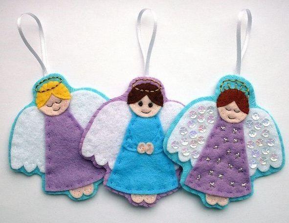 Ангелочки из ткани своими руками с выкройками