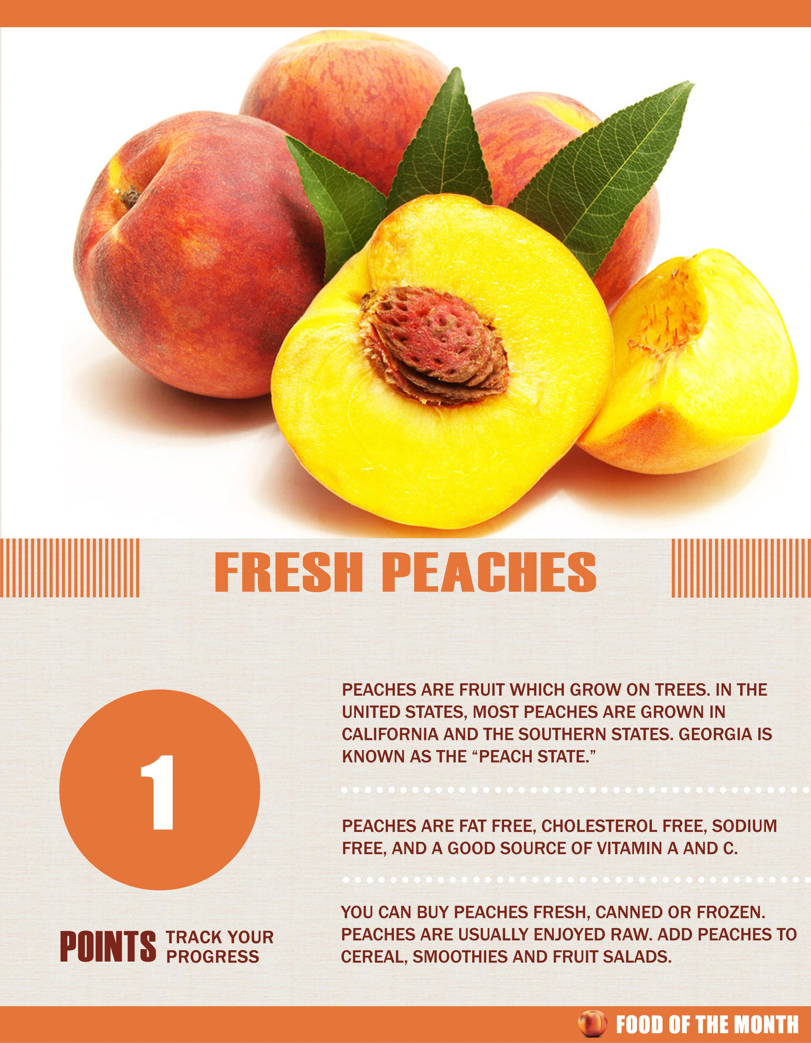 Peach Facts #peaches #fruit   facts   Fruit benefits ...