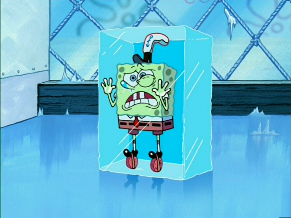 How To Survive A Freezing Cold Office Spongebob logic