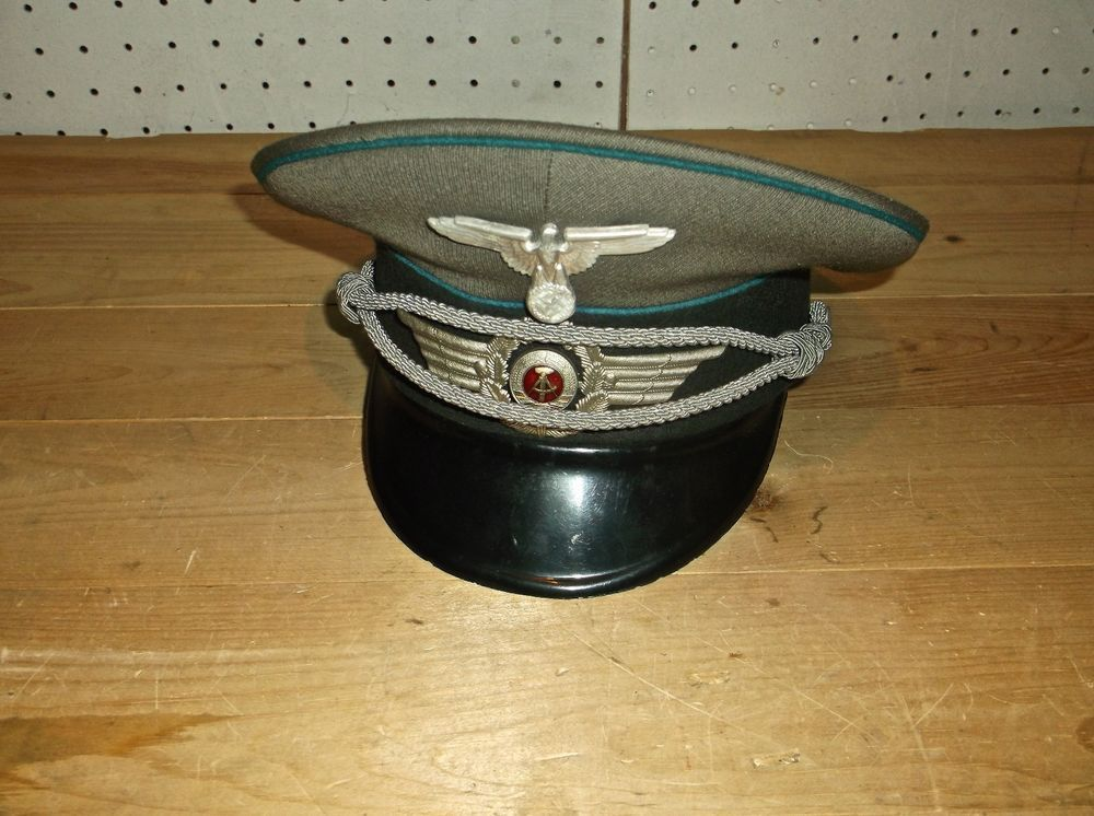 Vintage German Army Military Dress Hat W Eagle Symbol 1856 H Nva 56 Military Dresses Vintage German Dress Hats