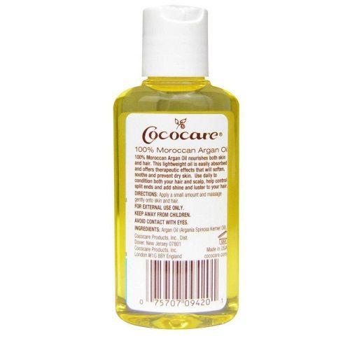 زيت الأرجان المغربي 100 طبيعي 60 مل من كوكوكير متجر راق Shampoo Bottle Soothe Shampoo