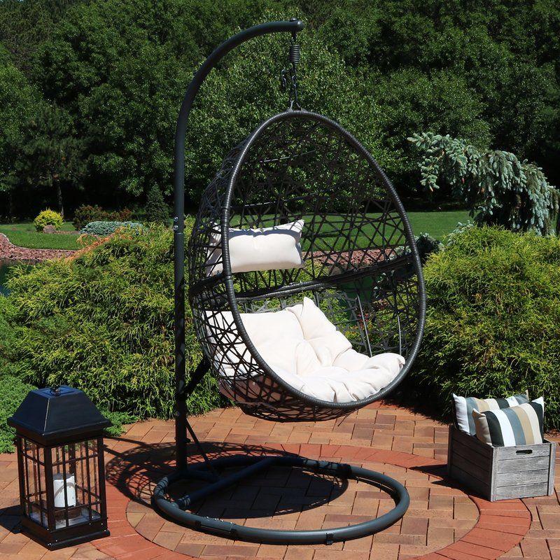wayfair egg chair swing