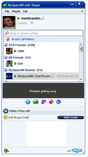 Myspacechatroom