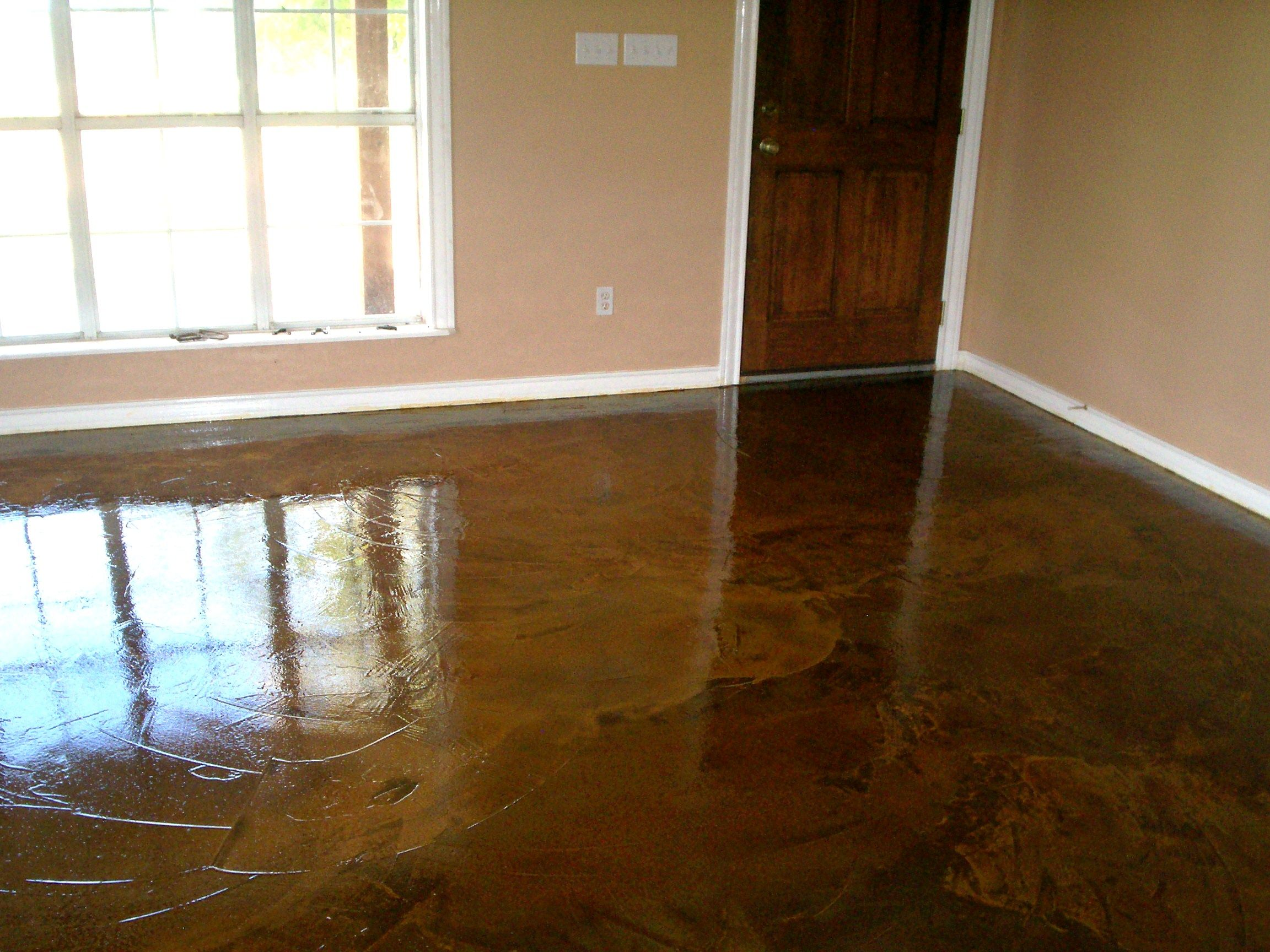 Epoxy Flooring Like Concrete Look Stained Concrete Concrete Stained Floors Concrete Stain Colors