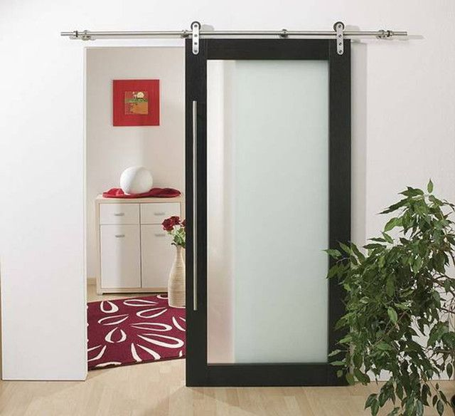 modern interior barn door designs interior exterior doors barbie bathrooms pinterest. Black Bedroom Furniture Sets. Home Design Ideas