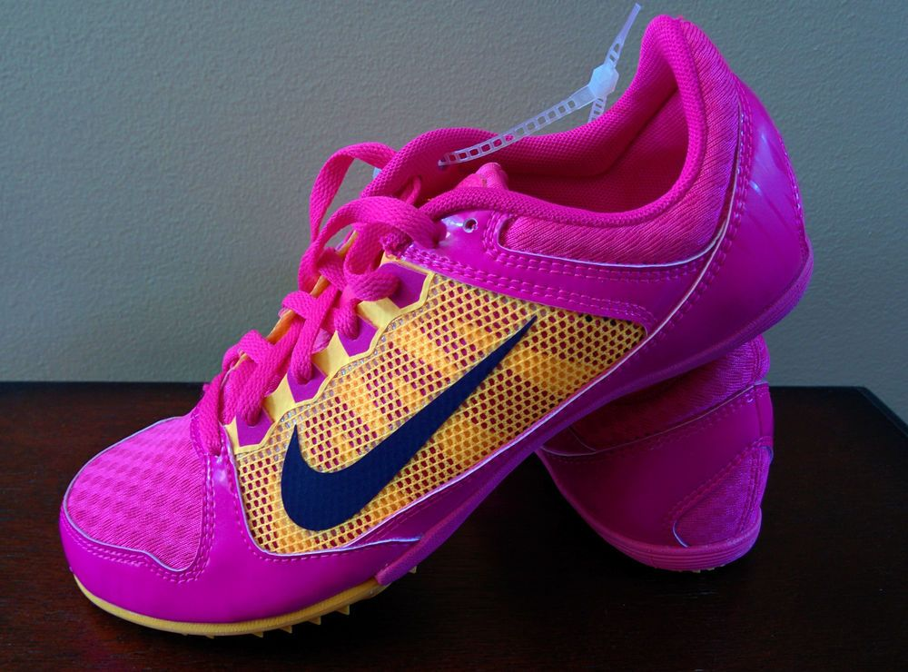 best loved 31f36 a9c8c Nike Zoom Rival MD7 Mid Distance Track Running 615982 660 Women  NIKE   TrackandFieldCleatsSpikes