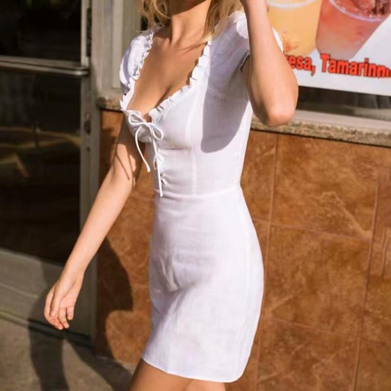 90b18f823ad7 Lace Up Beach Short Party Dress