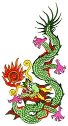 Stitchitize Embroidery Design Pack: Mystical Dragons