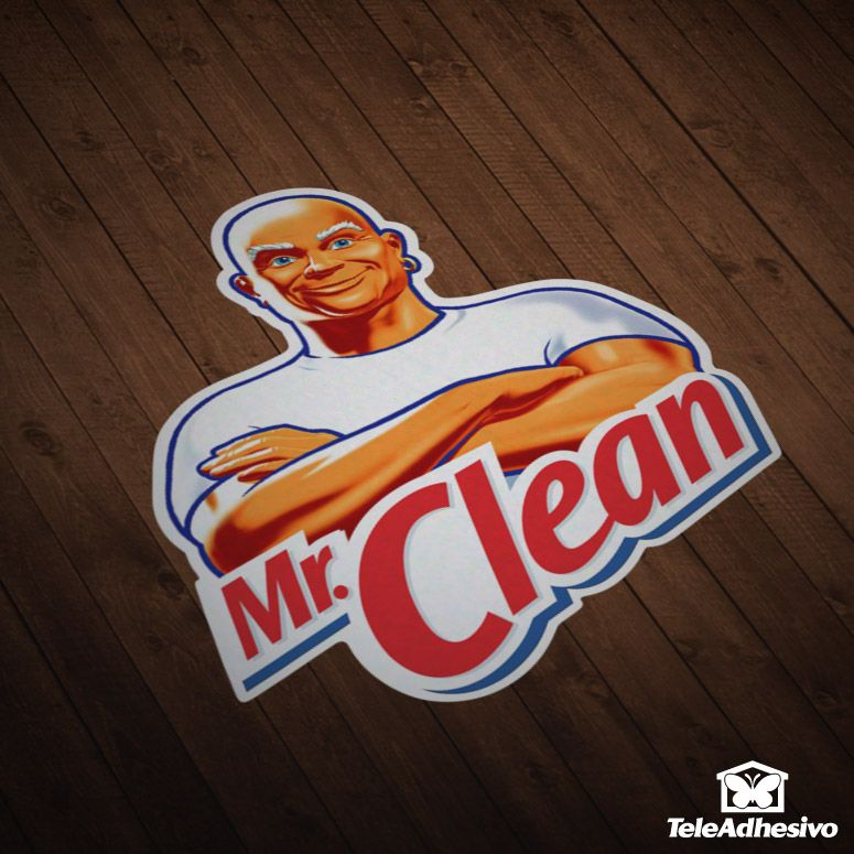 Car and Motorbike Stickers Mr. Clean