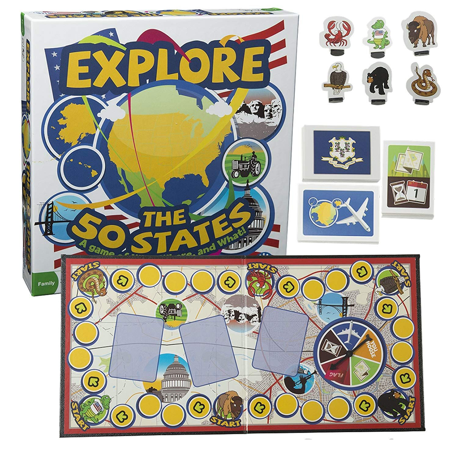Pin on Board Game Store  States Test Game on thanksgiving test, history test, us citizenship test, 13 colonies test, maps test,