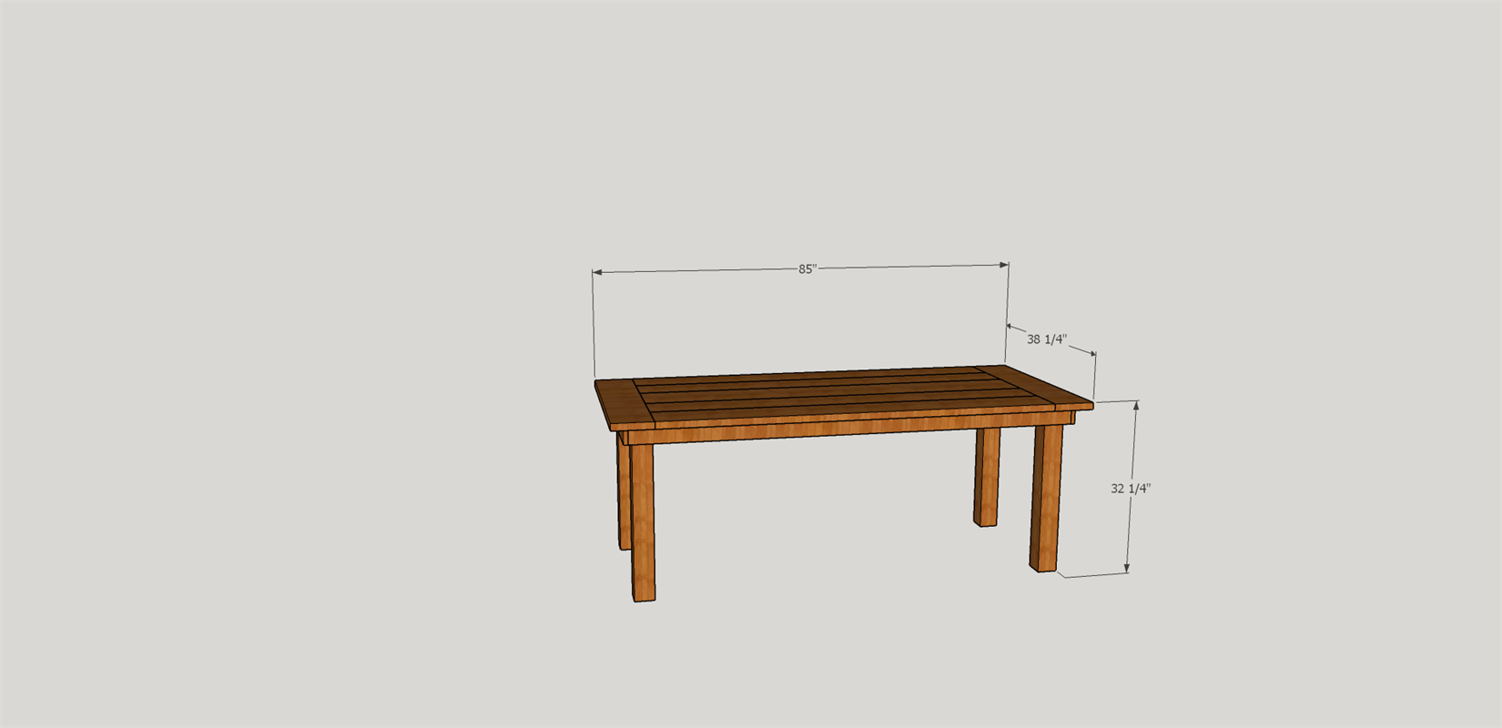 simple farm table.png | Table | Pinterest | Holzmöbel und Tisch
