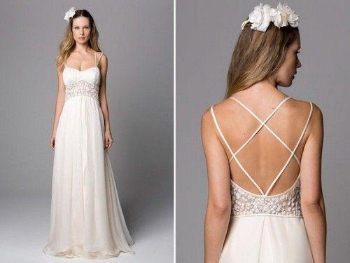 Vestidos de noiva simples como fazer