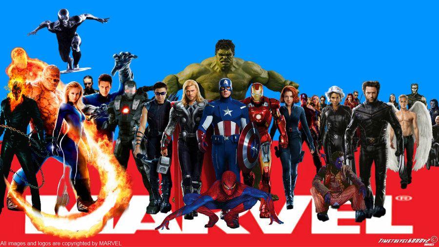 Superheroes Marvel Superheroes Wallpaper Widescreen By